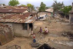 Haitian Slum